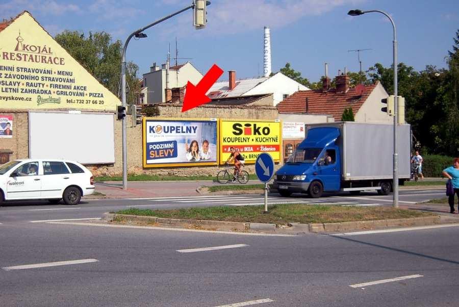 Reklamní plocha č. 3240837 - Billboard, Vyškov, Brněnská /Havlíčkova příjezd/výjezd sm.Brno, D1