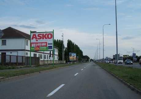 Reklamní plocha č. 700731 - Billboard, Brno - Horní Heršpice, Vídeňská výjezd na Vídeň, kolmo vlevo