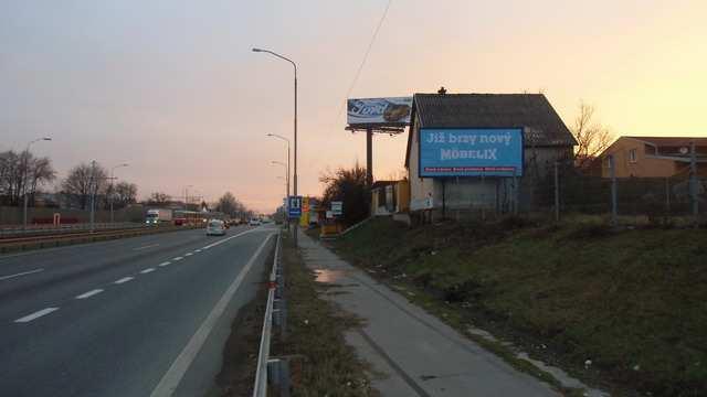 Reklamní plocha č. 7400294 - Billboard, Brno - Horní Heršpice, Vídeňská Brno - Wien, před exit Olympia