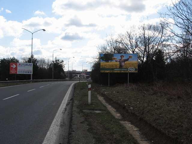 Reklamní plocha č. 7400475 - Billboard, Brno - Dolní Heršpice, D1 Exit 194 , Praha - Vídeň Provoz automobilů - velmi silný