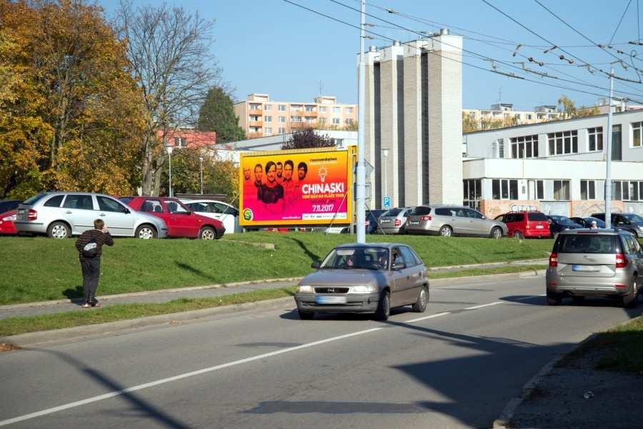 Reklamní plocha č. 3200684 - Billboard, Brno - Slatina, Zlínská ALBERT sm.Hviezdoslavova,zc