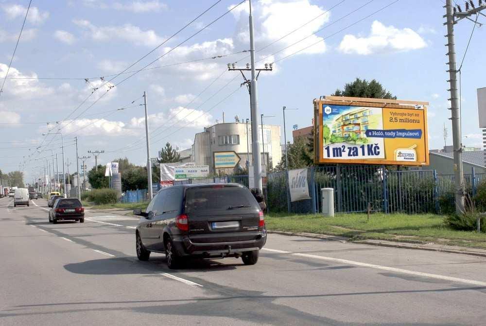 Reklamní plocha č. 3202488 - Billboard, Brno - Slatina, Řípská /Vyškovská výjezd sm.letiště,D1,zc