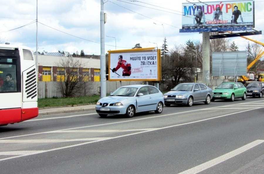 Reklamní plocha č. 3204096 - Billboard, Brno - Slatina, Hviezdoslavova /Řípská LIDL výjezd sm.Olomouc,D1,zc