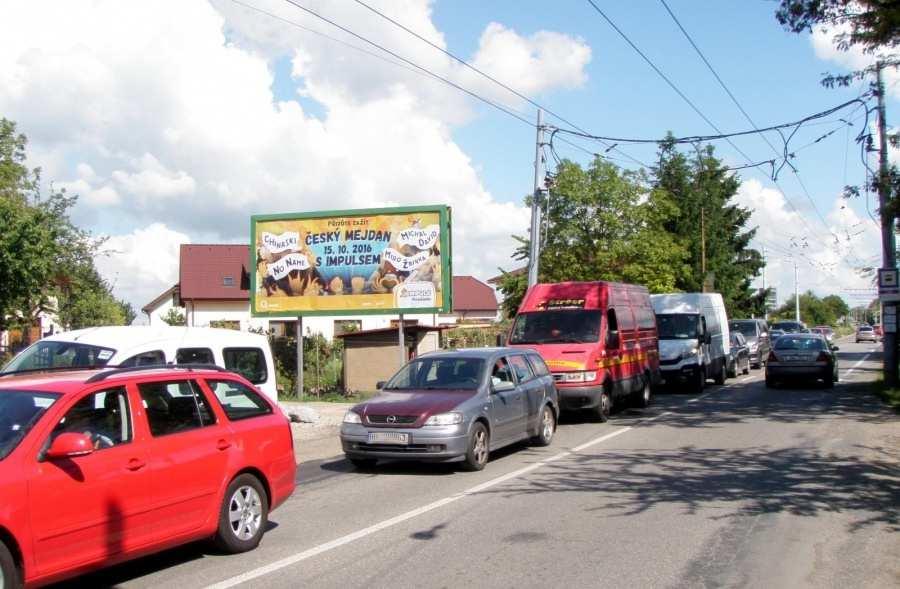 Reklamní plocha č. 3204110 - Billboard, Brno - Slatina, Šlapanická /Matlachova výjezd sm.Šlapanice,zc