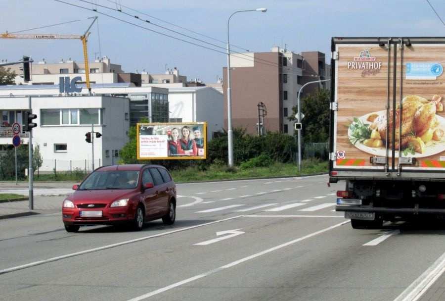 Reklamní plocha č. 3251906 - Billboard, Brno - Slatina, Řípská /Švédské valy příjezd od letiště,D1,dc