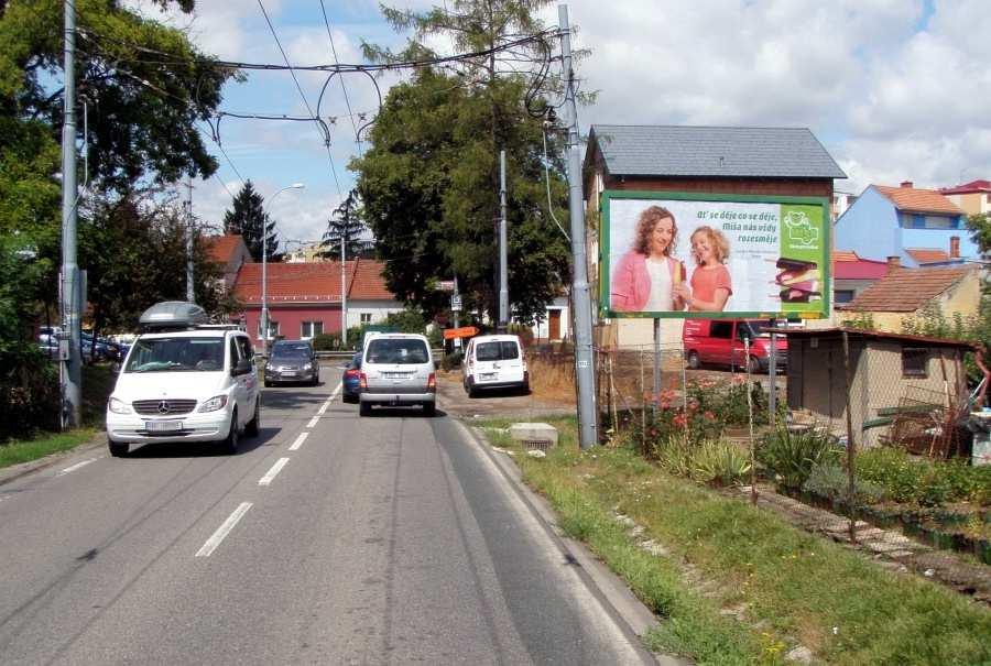 Reklamní plocha č. 3261397 - Billboard, Brno - Slatina, Šlapanická /Matlachova příjezd od Šlapanic,dc
