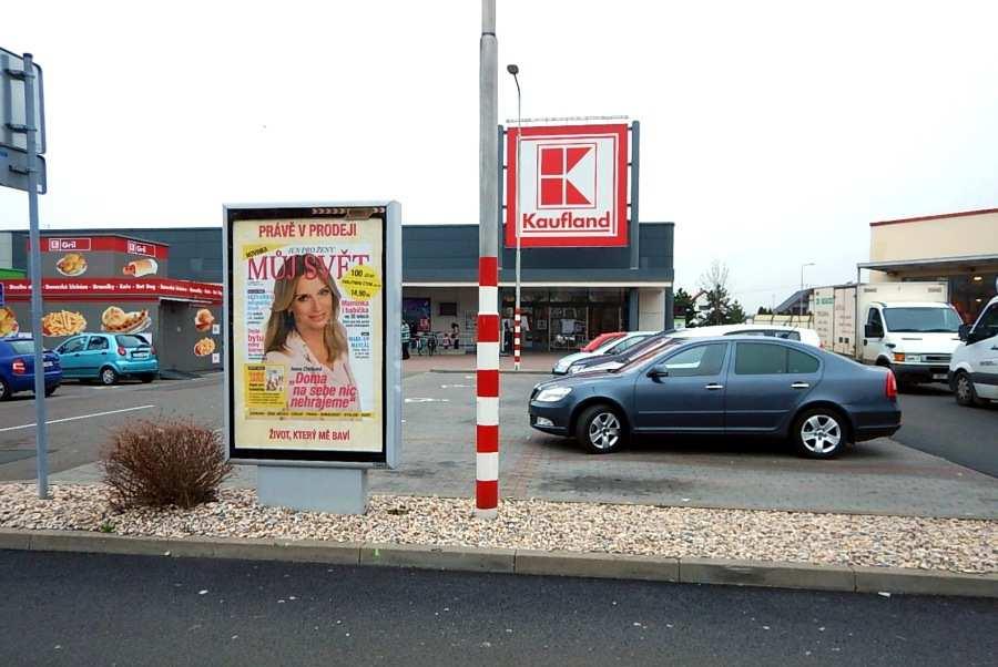 Reklamní plocha č. 3270003 - Citylight, Pardubice, Bělehradská KAUFLAND parkoviště marketu