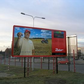 Billboard Brno - Venkovní reklamní plocha