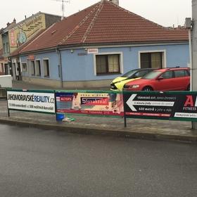 Reko - Reklama na zábradlí - Outdoor reklama Brno