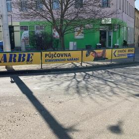 Reko - Reklama na zábradlí - Reklamní plochy Brno - ARBE