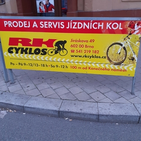 Reko - Reklamní plochy Brno - Reklama na zábradlí