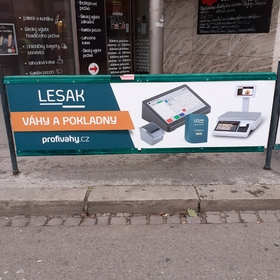 Reko - Reklama na zábradlí - Reklamní plochy Brno